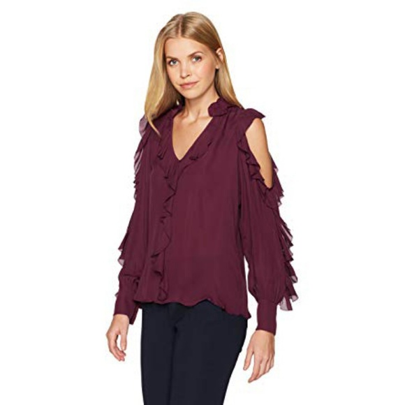 7010e5cd5b6 Parker Tops | 100 Silk Elana Blouse In Elixir | Poshmark